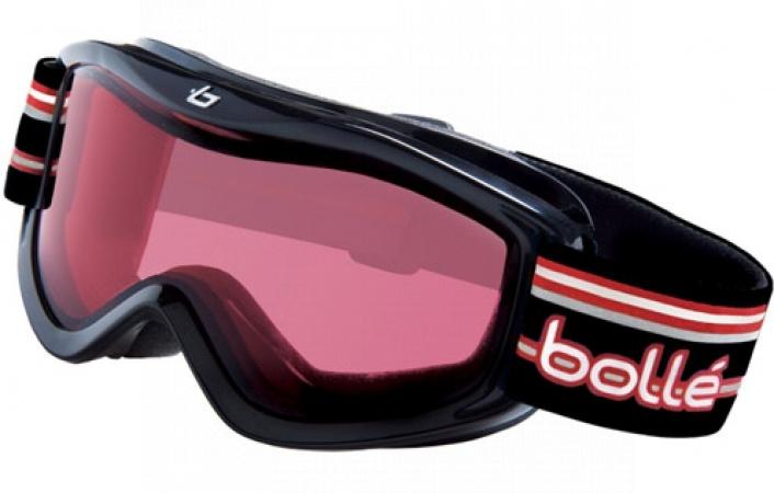 Lyžařské brýle Bollé AMP Black Stripes Vermillion