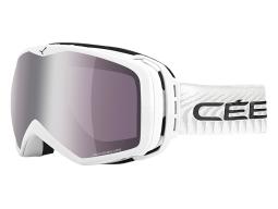 Lyžařské bryle Cébé Peak Full White Dark Rose Silve model 2016/17