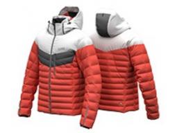 Bunda Colmar Mens Ski Jacket 1034 Chili Pepper/White/Eclipse, 2018/19