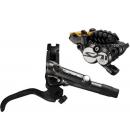 Kot brzd-set Shimano SAINT BR-M820-B přední/BL-M820-B kov+chladič SMBH90SB/1000mm bal