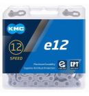 Řetěz KMC E12 EPT stříbrný box