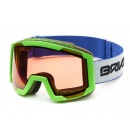 Lyžařské brýle Briko LAVA P1 matt green model 2017/18