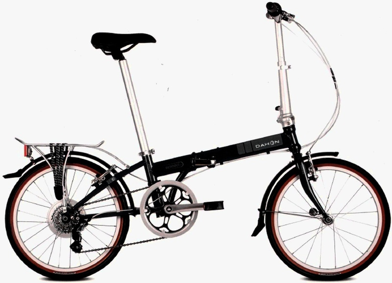 Kolo Dahon SPEED D7 Black model 2012