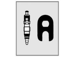 Náhradní vložka ventilku Schwalbe  SV+klíč+kryt
