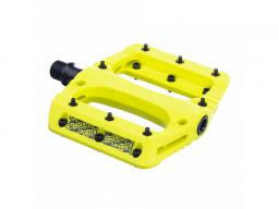 Pedály Sixpack Menace PA žlutá