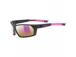 Brýle Uvex SPORTSTYLE 225, Black Pink/Mirror Pink