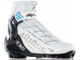 Běžecké boty Alpina T30 EVE White Black Blue