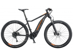 Elektrokolo KTM MACINA ACTION 291 Black Matt (black+or glossy), 2020