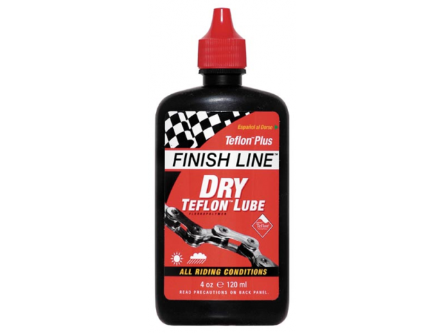 Olej Finish Line TEFLON Plus 120ml , kapátko