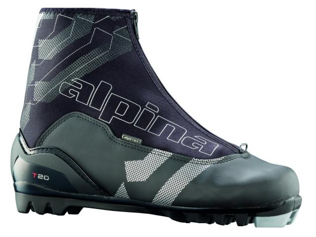 Běžecké boty Alpina T20 Black Silver model 2012/13