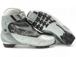 Běžecké boty Alpina EVE 30T Silver Black