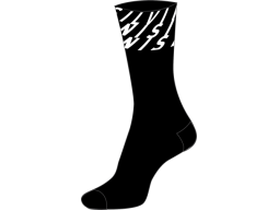 Ponožky Silvini Oglio UA1634 black-white