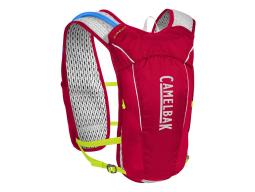 Batoh CamelBak Ultra 10 Vest-Crimson Red/Lime Punch