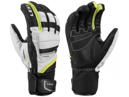 Rukavice Leki Griffin Prime S, white-black-yellow