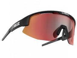 Brýle Bliz Active Matrix Matt Black Brown w Red Multi