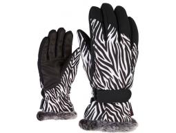 Rukavice Ziener KIM LADY Zebra