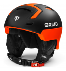Helma Briko STROMBOLI Matt Black Orange Fluo, 19/20