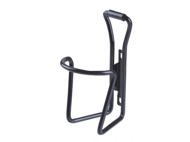 Košík na láhev hliníkový černý
