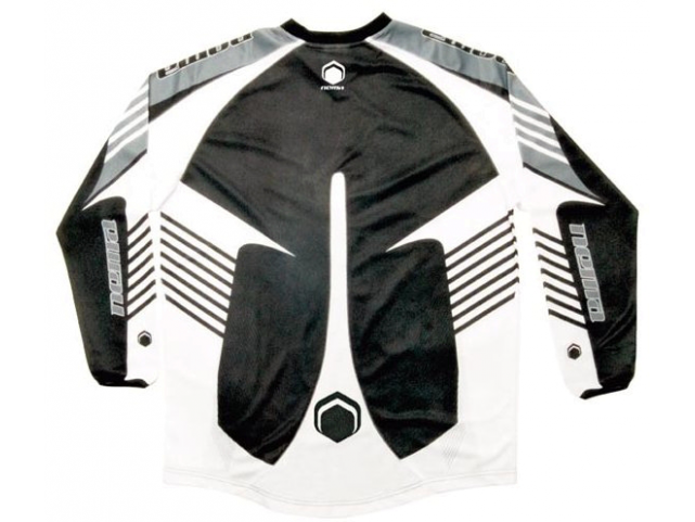 Dres Nema PODIUM JERSEY Black White model 2010