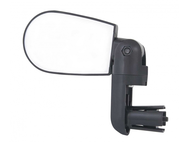 Zpětné zrcátko F MINI na řidítka oboustranné,černé