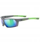 Brýle Uvex SPORTSTYLE 225, Grey Green/Mirror Green