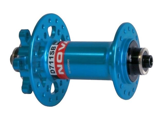 Náboj Novatec D711SB přední 32 děr Modrý
