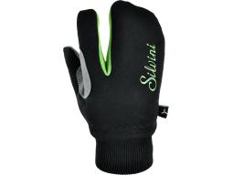 Rukavice TEXEL CA743, black/green