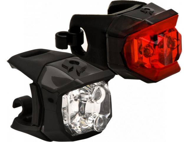 Světlo Blackburn VOYAGER CLICK + MARS CLICK COMBO Black