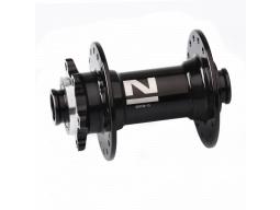 Náboj Novatec D041SB-15, přední, 36-děrový, černý (N-logo)