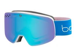 Lyžařské brýle Bollé NEVADA Matte White & Blue Race Aurora
