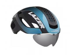 Helma Lazer BULLET 2.0 modro/černá+skla+led