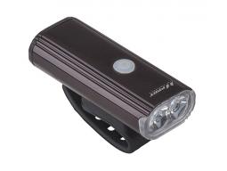Světlo přední PRO-T Plus 750 lumen 2x10 Watt LED dioda nabíjecí přes USB kabel 7067