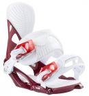 Snowboardové vázání HEAD NX FAY II burgundy, 19/20