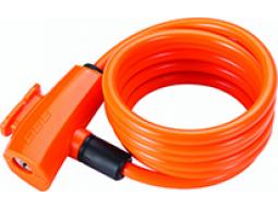 Zámek BBB BBL-61 QuickSafe 8x1500mm oranžová