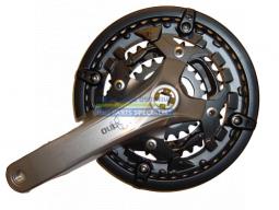 Kliky ACERA FC-T3010 4hran 3x9 170 mm 44x32x22z stříbrné s krytem