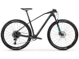 Kolo MONDRAKER Podium Carbon, black phantom/light blue, 2020