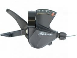 Řadící páčka Shimano ALTUS SL-M2010 pravá 9 rychl objímka s ukaz nebal