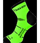 Ponožky Silvini Orato UA445 green/charcoal
