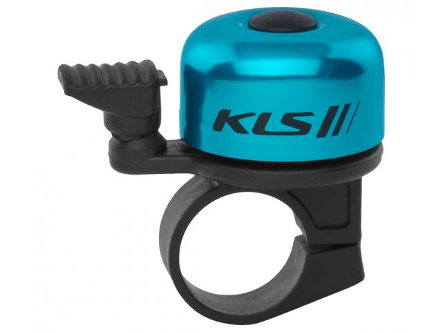 Cyklistický Zvonek KLS BANG 10 - modrý OEM