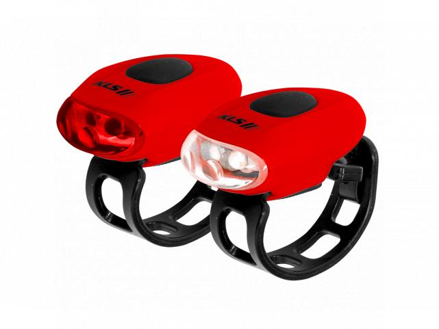 Osvětlení KLS EGGY Red set