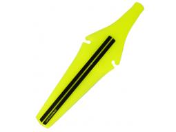 Blatník zadní pod sedlo plast žlutý neon