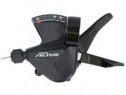 Řadící páčka Shimano ALTUS SL-M2010 levá 3 rychl objímka s ukaz nebal
