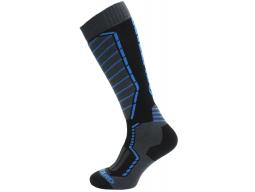 Lyžařské ponožky Blizzard Profi Ski black/anthracite/blue