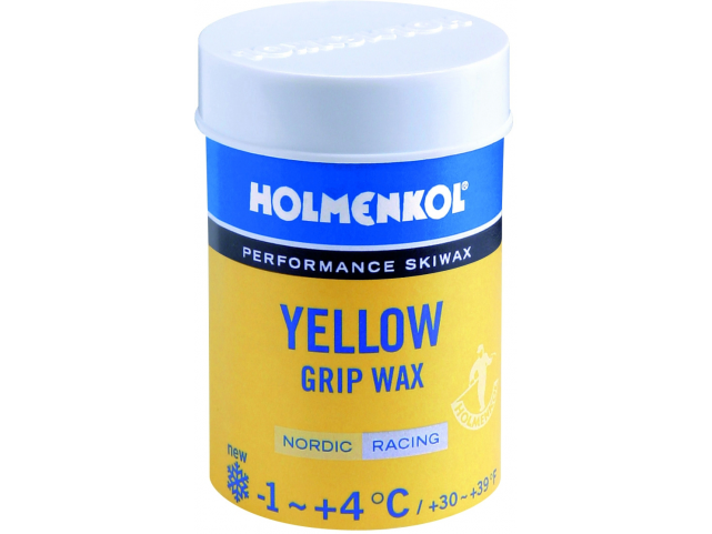Vosk Holmenkol GRIP WAX Yellow