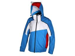 Bunda Vist Rekord Ins. Ski Jacket Caribe/White/Ruby, 2018/19