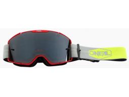 Brýle O´Neal B-20 Plain červená/žlutá