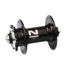 Náboj Novatec D041SB, přední, 36-děrový, černý (N-logo)