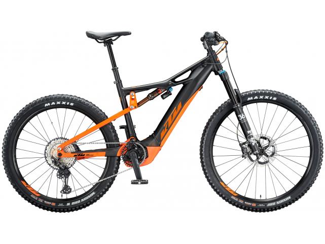 Elektrokolo KTM MACINA KAPOHO 2971, Black matt orange, 2020