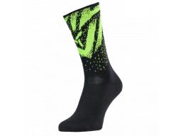 Ponožky Silvini Nereto UA1808 Black-neon