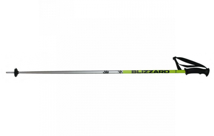 Lyžařské hole Blizzard sport ski poles, black/yellow/silver